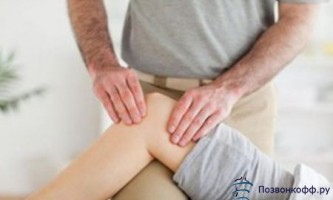 Позбавляйтеся від артрозу колінних суглобів за допомогою масажу!