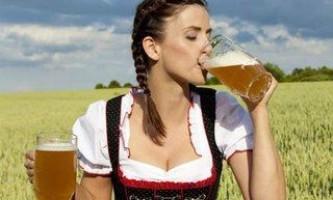 Як кинути пити пиво жінці
