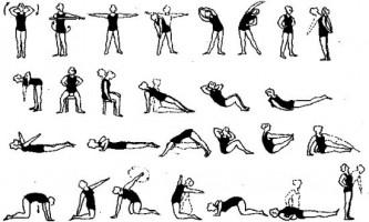 Лікувальна фізкультура при грижі хребта: як виконувати вправи
