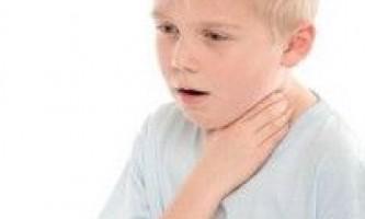 Лікування сухого кашлю у дітей - що робити?