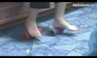 Масаж дітям при кашлі відео