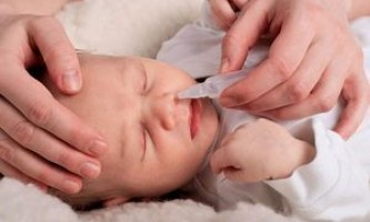Соплі у дитини 3 місяці що робити