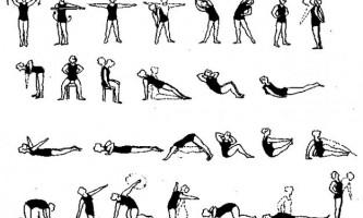 Вправи при викривленні хребта