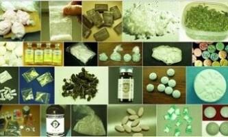 Види наркотичних речовин