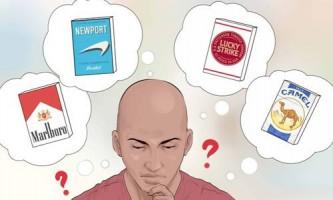 Вибираємо самі нешкідливі сигарети