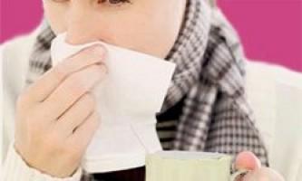 Закладеність носа, нежить, кашель, чхання, болі в горлі і хрипота і інші симптоми застуди